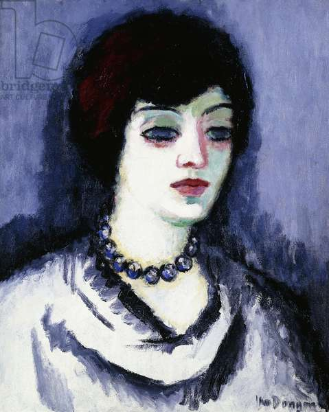 Woman with a Pearl Necklace; Femme au Collier de Perles, c. 1908 (oil on canvas)