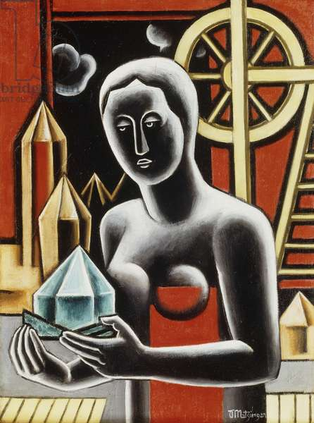 A Woman at the Window; Femme a la Fenetre, 1928 (oil on canvas)