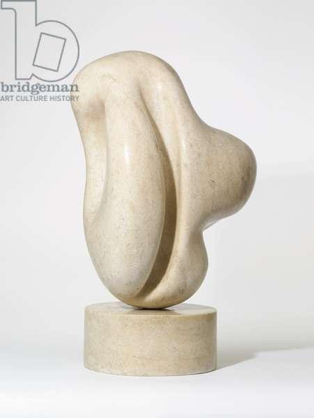 Le Jumeau Pierre, 1962 (white crystalline marble)