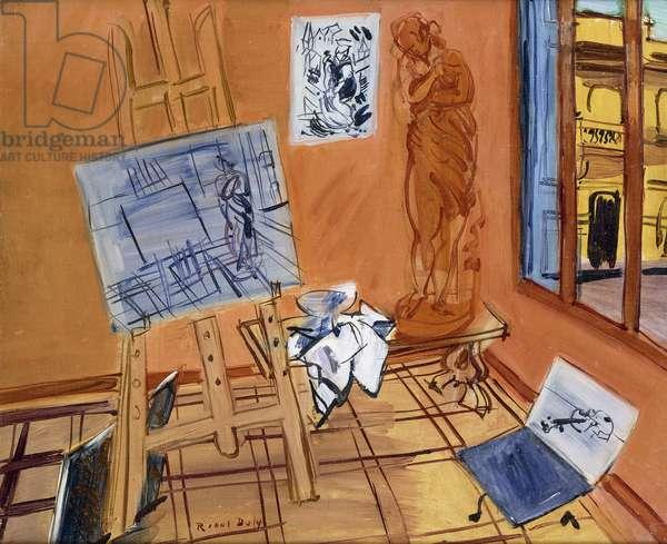 The Studio on the Rue Jeanne d'Arc; L'Atelier de la Rue Jeanne d'Arc, c.1942 (oil on canvas)