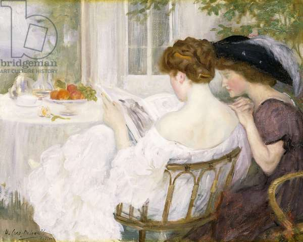 The Letter, 1910 (oil on canvas)