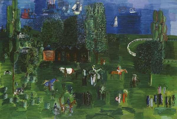 The Paddock; La Paddock, 1925-1926 (oil on canvas)