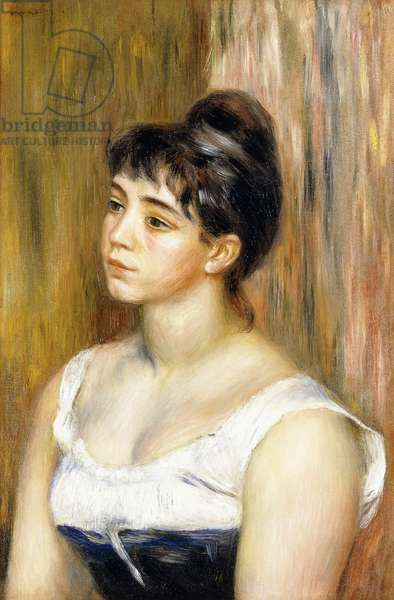Portrait of Suzanne Valadon, c.1885 (oil on canvas)