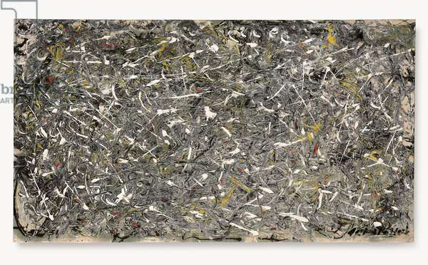 Number 28, 1951, 1951 (oil on canvas)