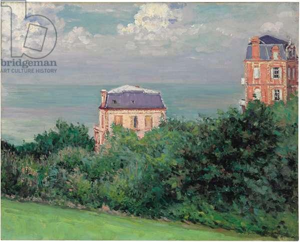 Villas at Villers-sur-Mer (oil on canvas)
