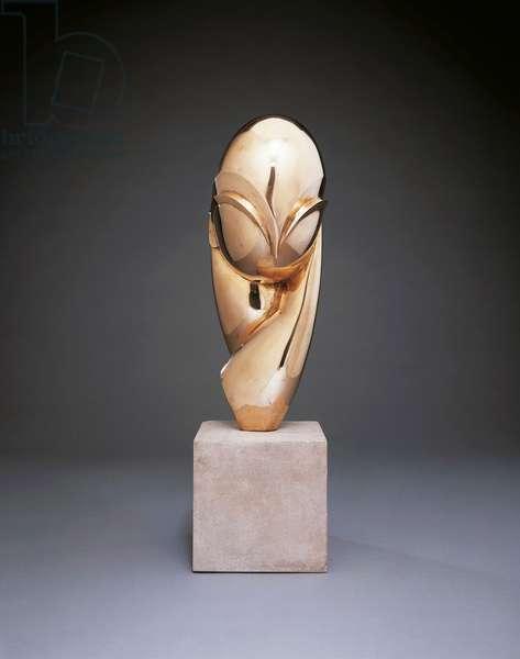 Mademoiselle Pogany II, 1920-25 (bronze)