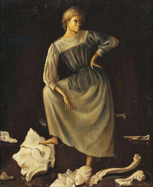 Bones; Les Os, 1938 (oil on canvas)