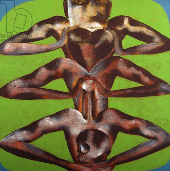 Device, 1991 (oil on canvas)