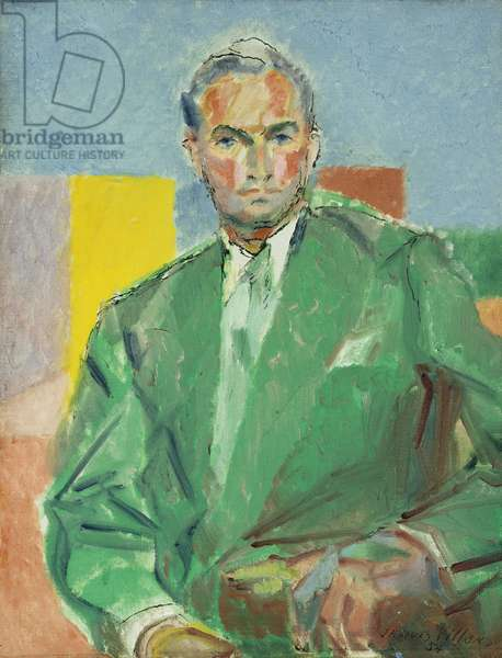 Study for a Portrait of Ralph Pulitzer; Etude pour le Portrait de Ralph Pulitzer, 1954 (oil on canvas)