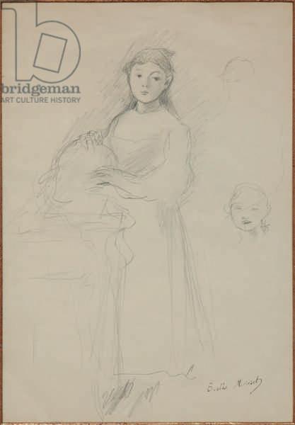 Marthe Givaudan (pencil on paper)