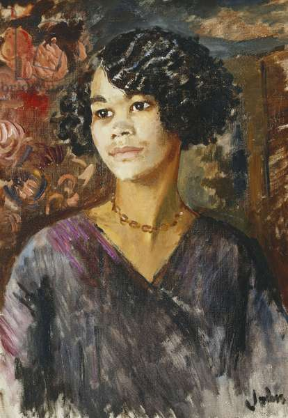 Portrait of a Young Negress, 1937 (oil on canvas)