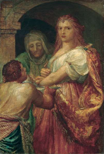 The Daughter of Herodias (oil on canvas)