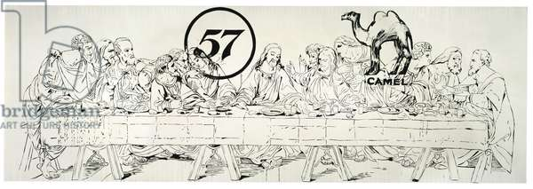 The Last Supper (Camel/57), 1986 (synthetic polymer and acrylic ink on canvas)