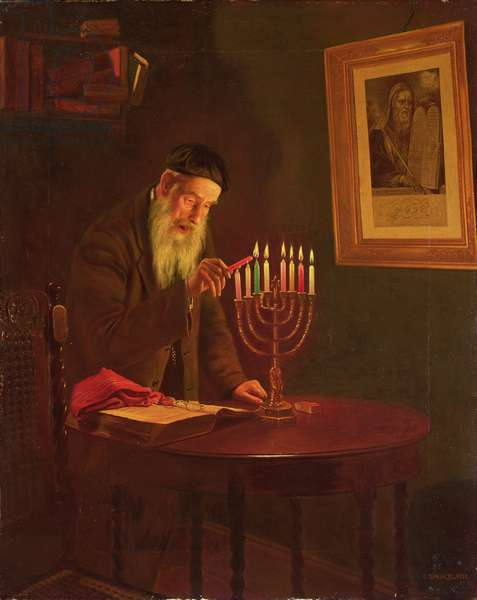 The Last Night of Hanukkah