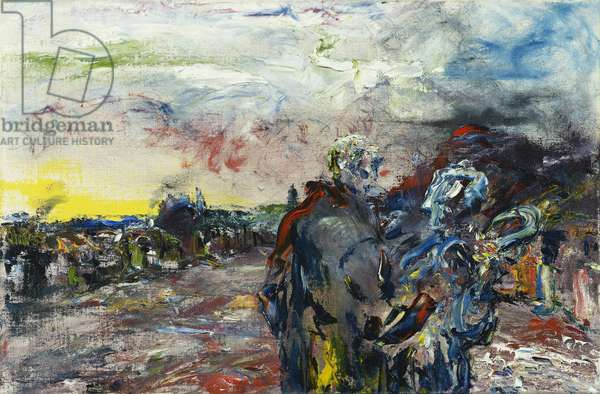 The Great Old Road, c.1948 (oil on board)