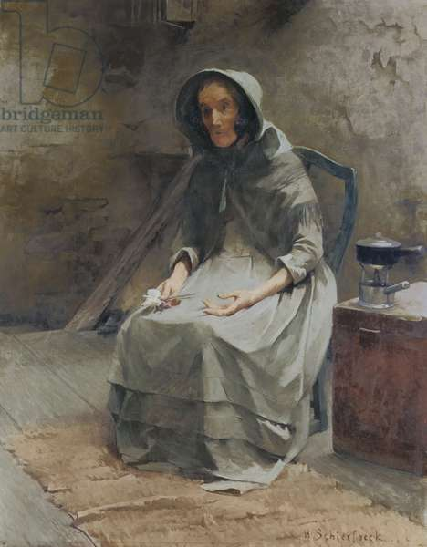 Autumn Rose; Hostros, 1887 (oil on canvas)