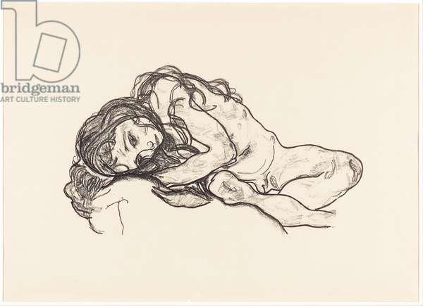 Girl (K. 17), 1918 (litho)