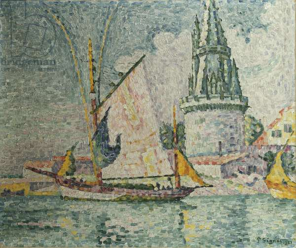 The Voyage of the Four Sergeants at La Rochelle, 1927 (oil on canvas)