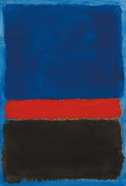 Untitled, 1959 (oil on paper laid down on board)