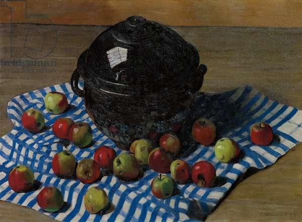The Black Soupiere, 1923 (oil on canvas)