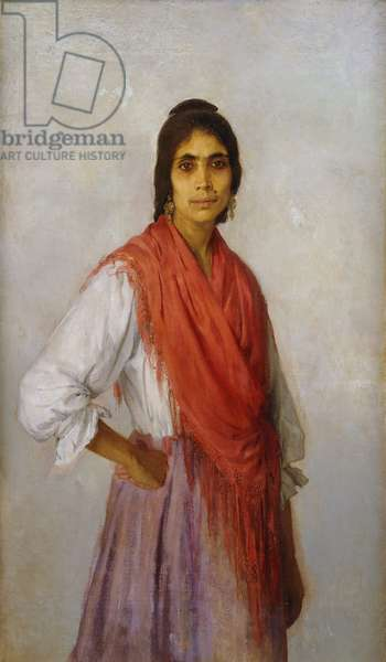 Una Gitana Mas, 1914 (oil on canvas)