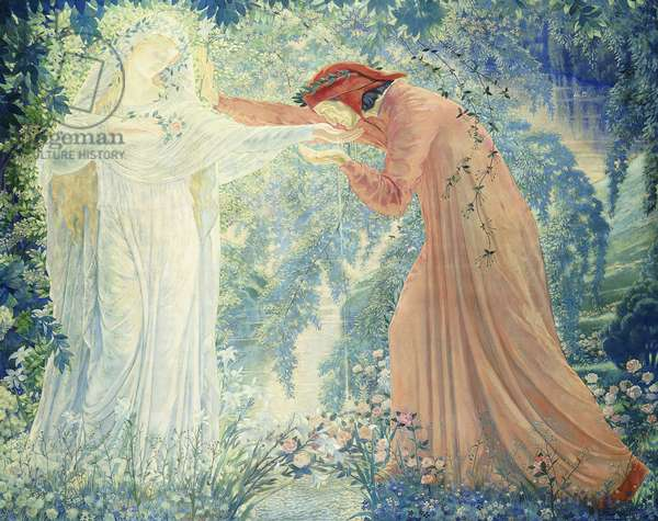 Dante, 1919 (oil on canvas)