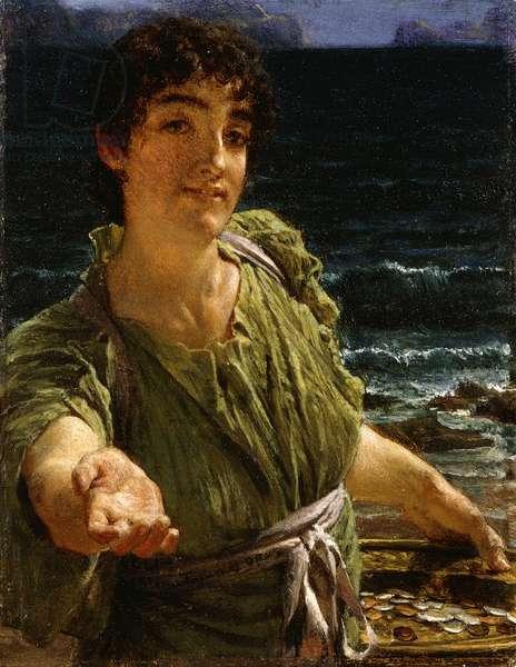Una Carita, 1883 (oil on panel)
