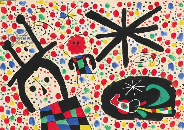 Untitled, 1953 (gouache, brush and ink on paper)