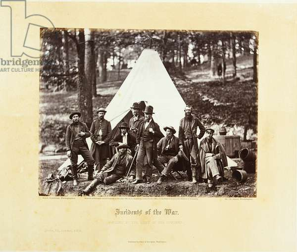 Gardner's Photographic Sketch Book of the War, Washington: Philip & Solomons, 1866 (b/w photo)