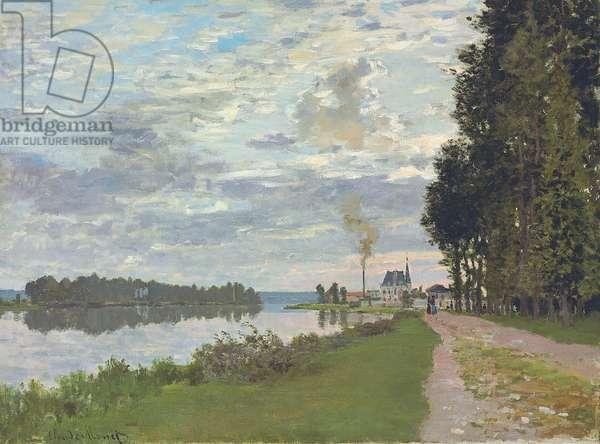 Le Promenade d'Argenteuil, 1872 (oil on canvas)