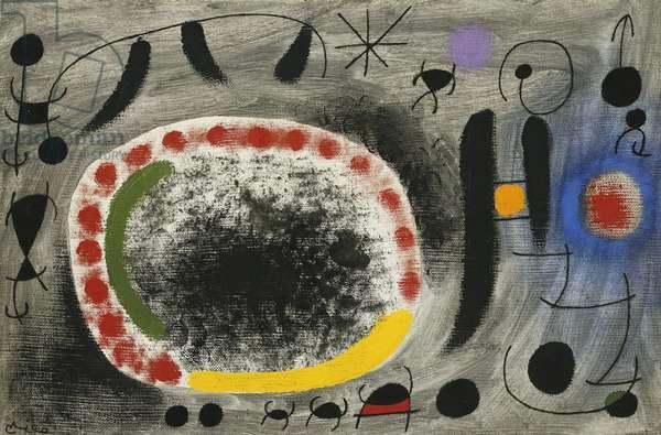Love Song of Birds; Chant d'Amour des Oiseaux, 1967 (oil on canvas)