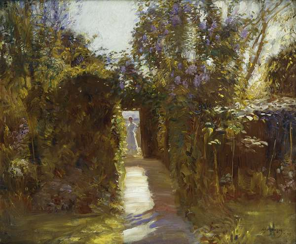 The Garden Door, 1912 (oil on canvas)