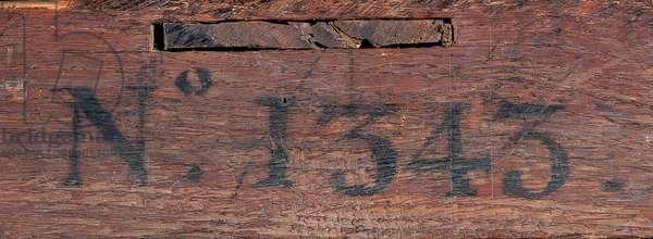 Commode, c.1745 (ormolu-mounted Japanese lacquer & ebonized wood)