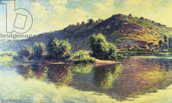 The Seine at Port-Villez, 1883 (oil on canvas)