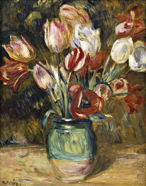 Vase of flowers, 1888-89 (oil on canvas)