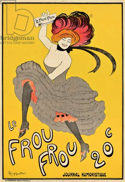 Poster advertising the French journal 'Le Frou Frou', 1899 (colour lithograph)