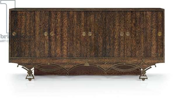 Sideboard (Palmwood, oxidized brass)