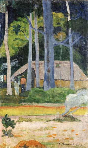 Hut in the Trees, 1892 (oil on canvas)