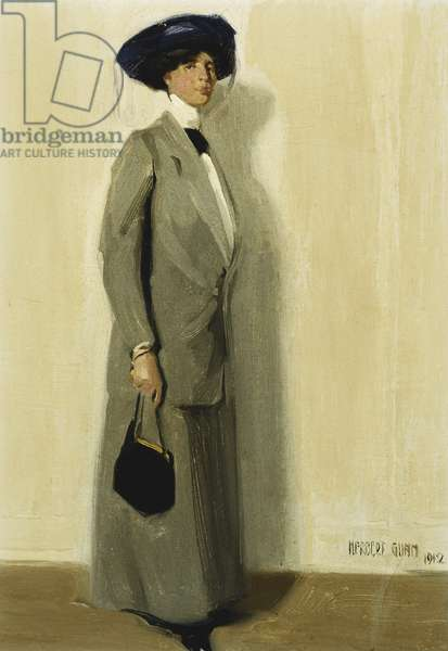 La Belle, 1912 (oil on canvas board)