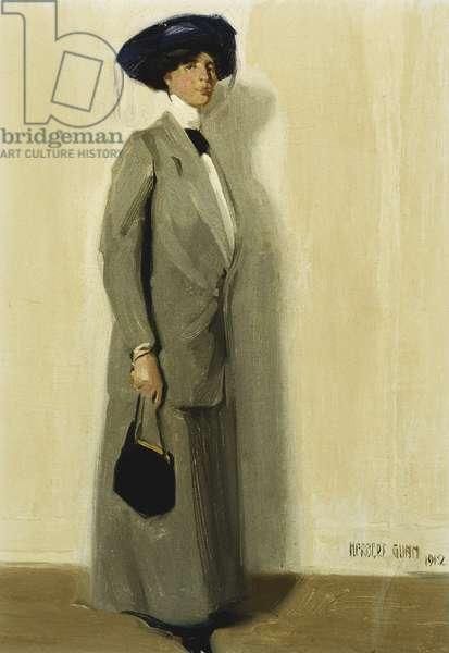 La Belle, 1912 (oil on canvas board)