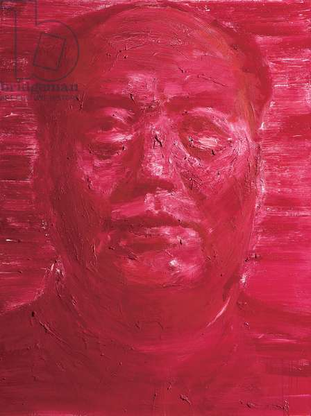 Mao Rouge, 2000 (oil on canvas)