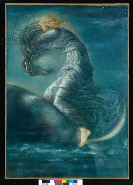 Luna, c.1872-75 (oil on canvas)