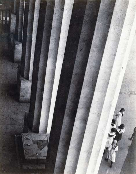Pushkin Museum, Moscow, 1927, 1927 (gloss gelatin silver print, mounted on card)