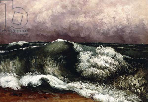 The Wave, 1869 (oil on canvas)