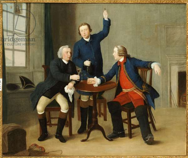 The Toast (oil on canvas)