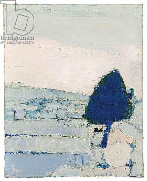 Provence landscape, 1953 (oil on canvas)