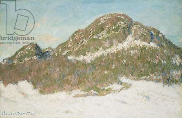 Mount Kolsaas, Sunlight Effect, 1895 (oil on canvas)