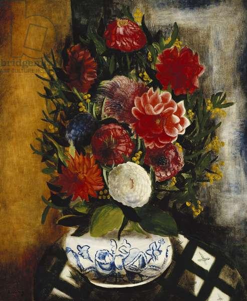 Vase of Flowers; Vase de Fleurs, 1933 (oil on canvas)