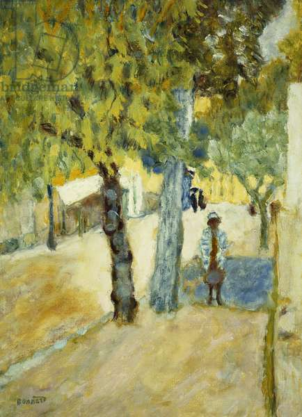 People in the Street; Personnages dans la Rue, c.1925 (oil on canvas)