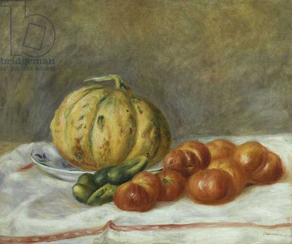 Melon and Tomatoes, 1903 (oil on canvas)